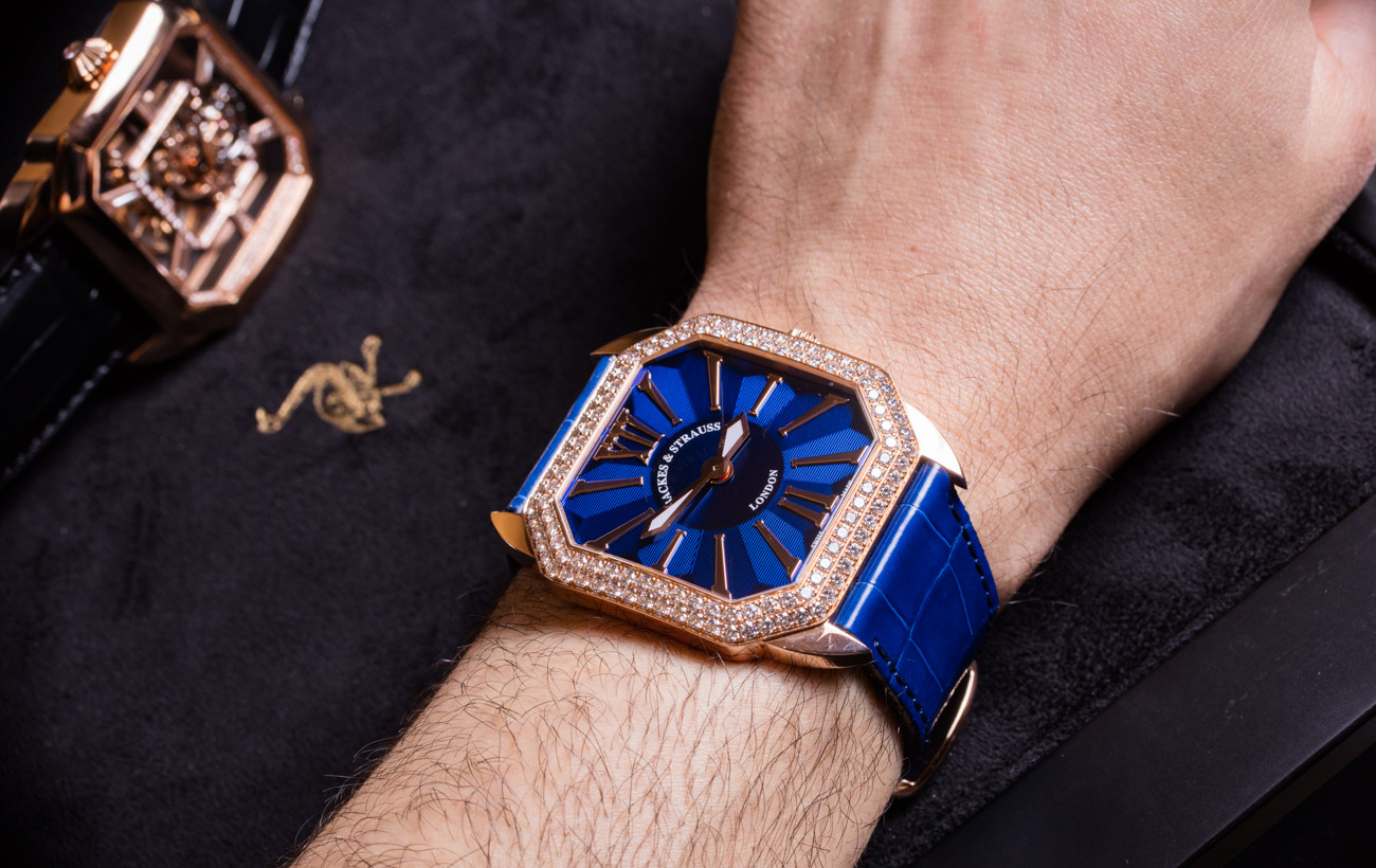 đồng hồ đính đá kim cương, đính đá