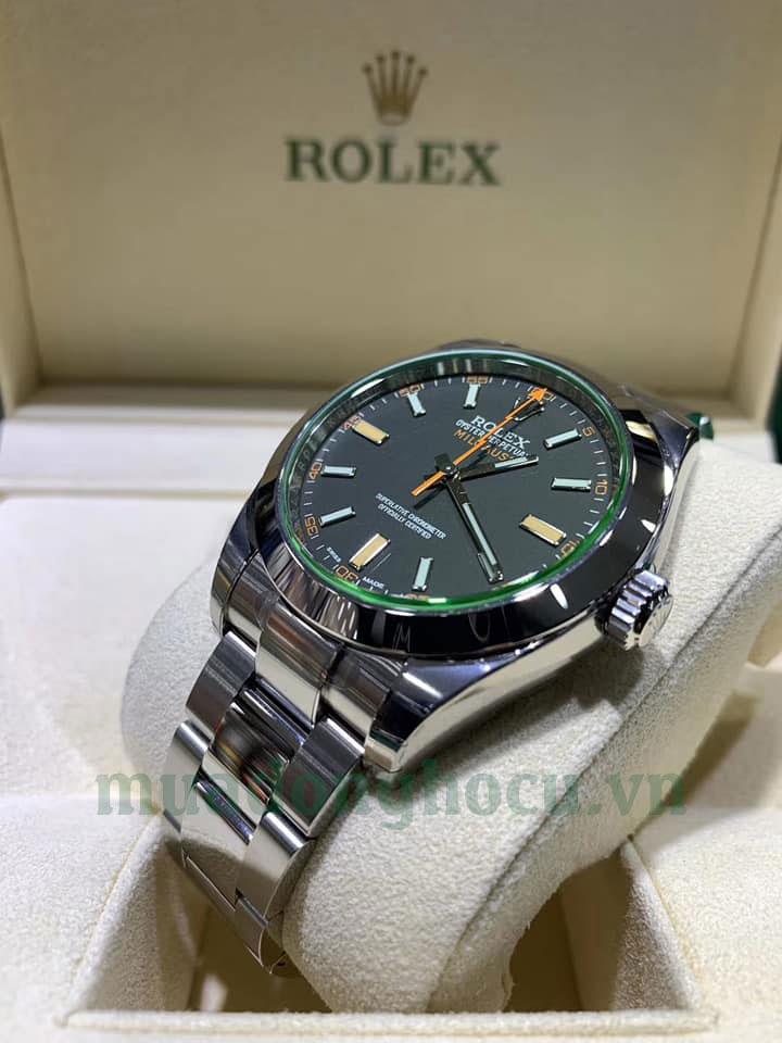 Đồng Hồ Rolex 116400GV Milgauss Oyster Steel 40MM