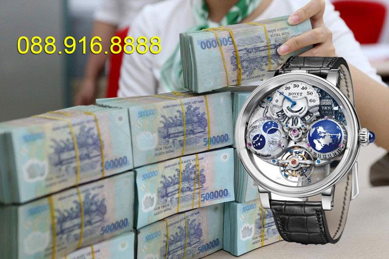 Thu mua đồng hồ Bovet cũ