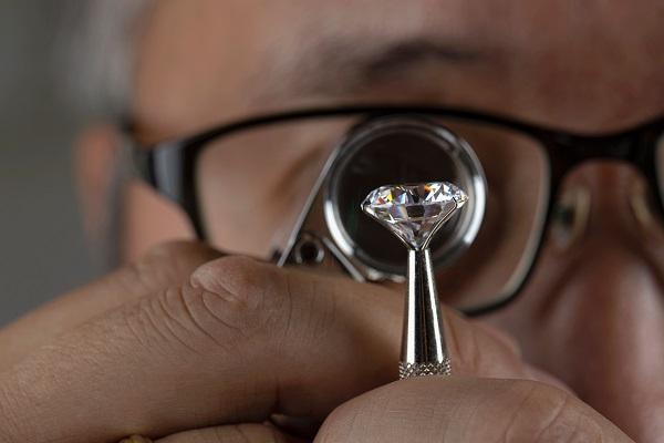 thẩm định kim cương