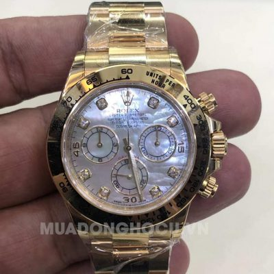 Đồng hồ Rolex Daytona 116528MDO Mother of Pearl
