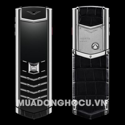 Vertu Signature Black Alligator