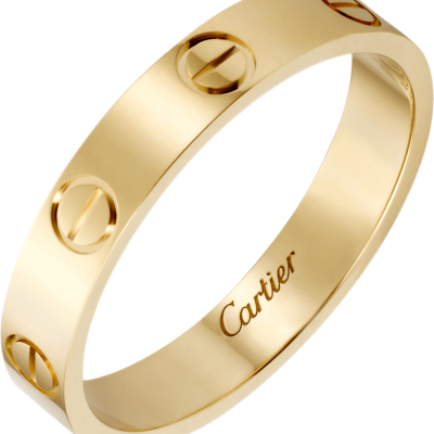 Nhẫn Cartier Love Wedding Band Yellow Gold