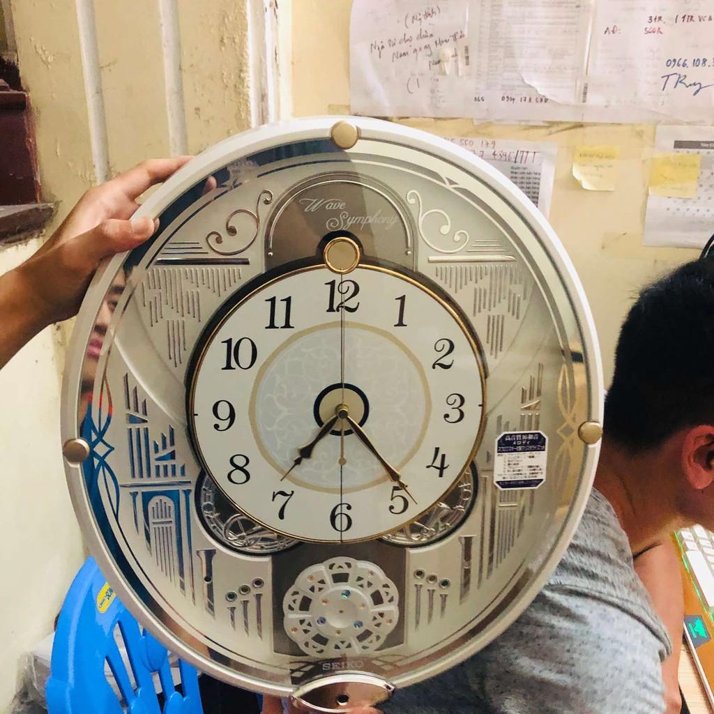 Top 5 mẫu đồng hồ treo tường Seiko đẹp