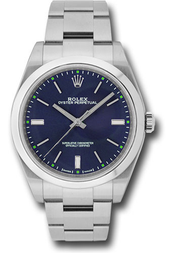 Đồng Hồ Rolex 114300 blio Oyster Perpetual No-Date 39mm - Domed Bezel