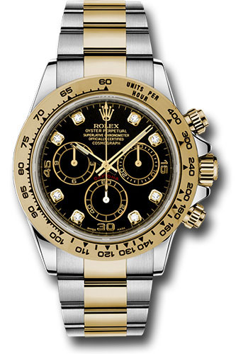 Đồng Hồ Rolex 116503 bkd Daytona Steel and Yellow Gold