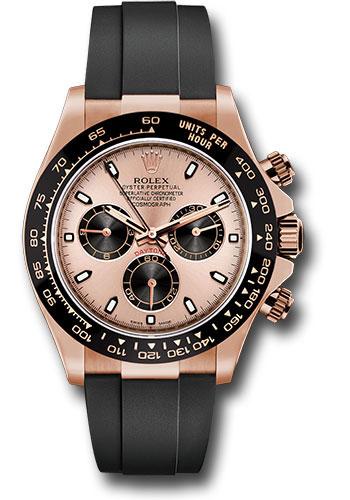 Đồng Hồ Rolex 116515LN pbkof Daytona Everose Gold - Oysterflex Strap