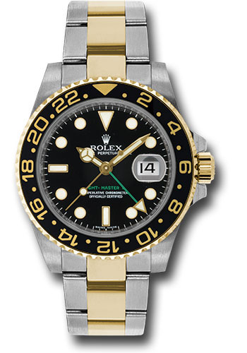 Đồng Hồ Rolex 116713LN GMT-Master II Steel and Yellow Gold