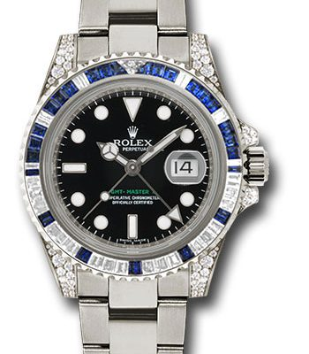 Đồng Hồ Rolex 116759SA GMT-Master II White Gold