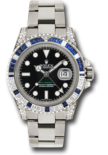 Đồng Hồ Rolex 116759SA GMT-Master II White Gold