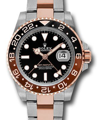 Đồng Hồ Rolex 126711CHNR bk GMT-Master II Steel and Everose Gold