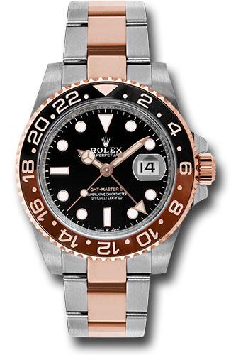 Đồng Hồ Rolex 126711CHNR bk GMT-Master II Steel and Everose Gold