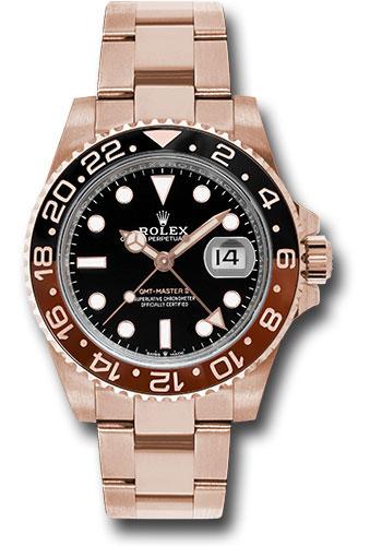 Đồng Hồ Rolex 126715CHNR bk GMT-Master II Everose Gold Watch