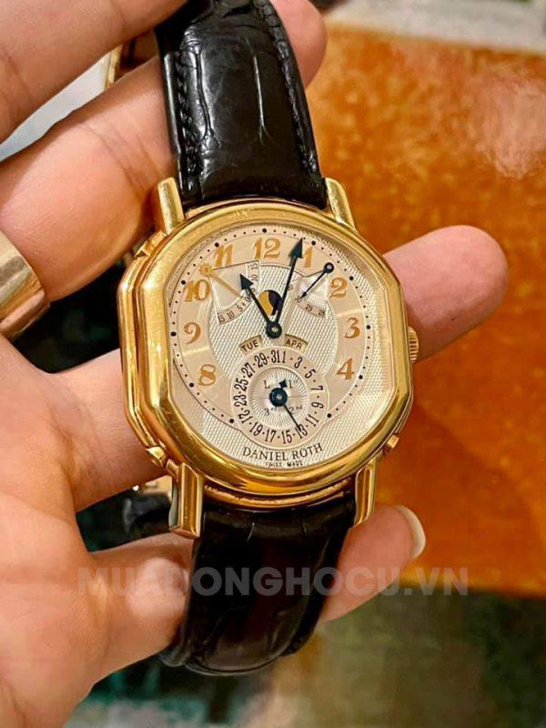 Daniel Roth Perpetual Calendar 121.Y.40.16250.CN.BD 18k Rose Gold