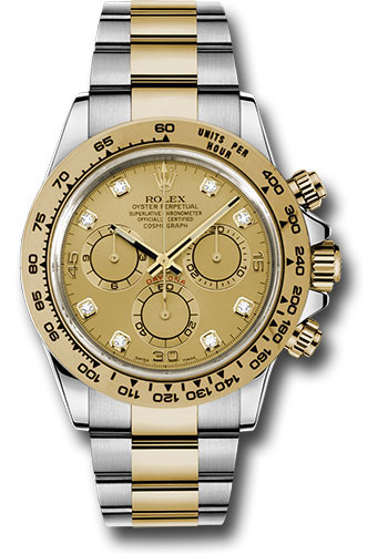 Đồng Hồ Rolex 116503 chd Daytona Steel and Yellow Gold