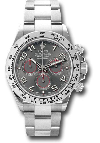 Đồng Hồ Rolex 116509 gra Daytona White Gold - Bracelet