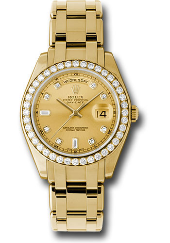 Đồng Hồ Rolex 18948 chd Day-Date Special Edition Yellow Gold Masterpiece