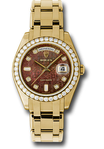 Đồng Hồ Rolex 18948 dkmjd Day-Date Special Edition Yellow Gold Masterpiece