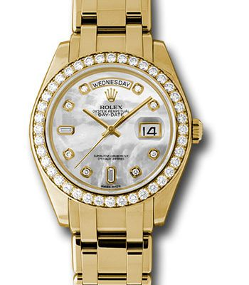 Đồng Hồ Rolex 18948 md Day-Date Special Edition Yellow Gold Masterpiece