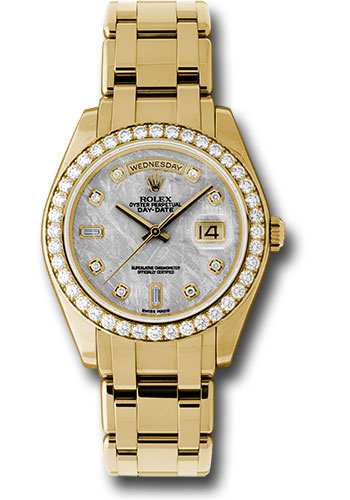 Đồng Hồ Rolex 18948 mtd Day-Date Special Edition Yellow Gold Masterpiece