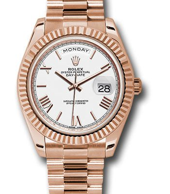 Đồng Hồ Rolex 228235 wrp Day-Date 40 Everose Gold