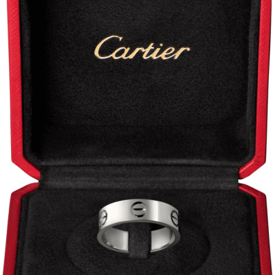 Nhẫn Cartier CRB4084900 - LOVE ring - Platinum
