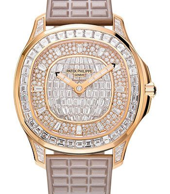 Đồng Hồ Patek Philippe 5062/450R-001 Aquanaut Ladies Rose Gold