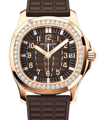 Đồng Hồ Patek Philippe 5068R-001 Aquanaut Ladies Rose Gold