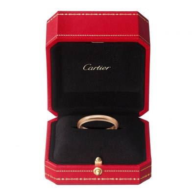 Nhẫn Cartier CRB4088100 - 1895 wedding band - Pink gold