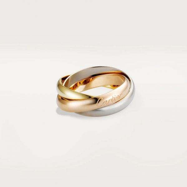 Cartier CRB4052700 - Trinity ring, classic - White gold, yellow gold, pink gold