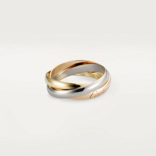 Cartier CRB4086100 - Trinity ring, small model - White gold, yellow gold, pink gold