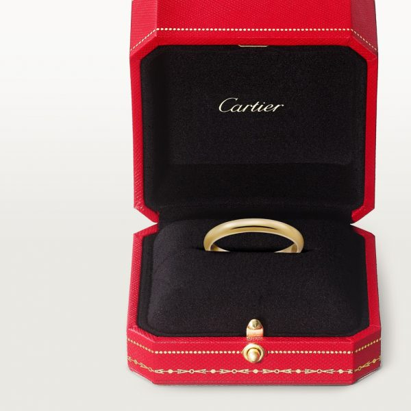 Nhẫn Cartier CRB4002300 - 1895 wedding band - Yellow gold