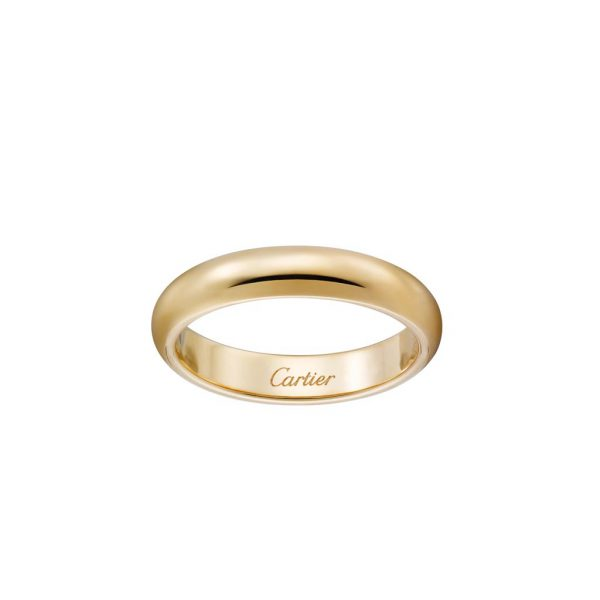 Nhẫn Cartier CRB4031200 - 1895 wedding band - Yellow gold