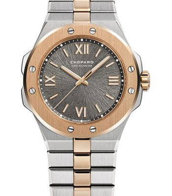 Đồng Hồ Chopard 298601-6001- Alpine Eagle 36mm - Steel and Rose Gold