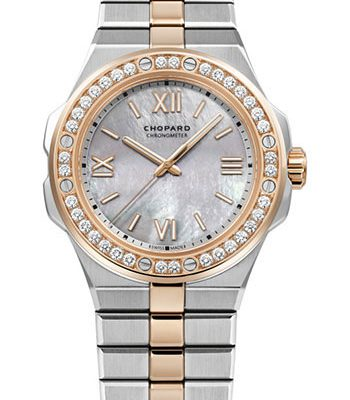 Đồng Hồ Chopard 298601-6002- Alpine Eagle 36mm - Steel and Rose Gold