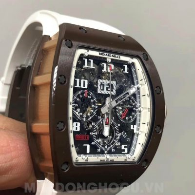Richard Mille RM 011 Flyback Chronograph Brown Ceramic Rose Gold