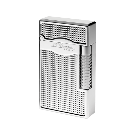Bật lửa Le Grand S.T. Dupont Lighter Twin flame Grey