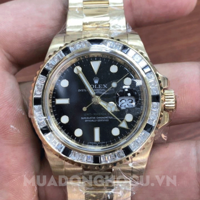 Đồng Hồ Rolex Oyster Perpetual GMT-Master II Yellow Gold