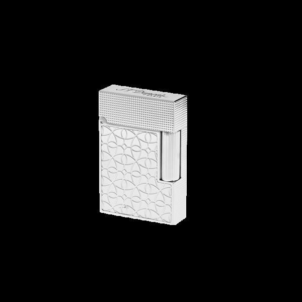Bật lửa S.T. Dupont lighter Ligne 2 small platinum engraved