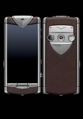 Vertu Touch Brown Leather