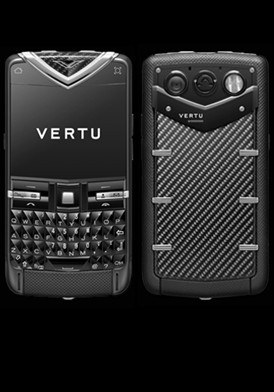 Vertu Constellation Quest Black Stainless Carbon Carouse